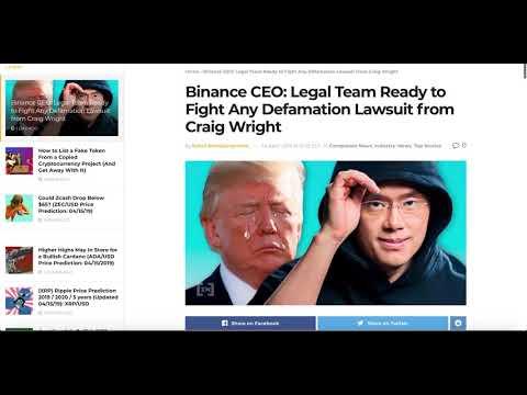 Bitcoin SV Dead | Binance Delists Bitcoin SV | EOS Airdrops PEOS