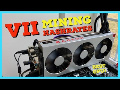 The BEST GPU for Mining EVER – Radeon VII Mining Review | Hashrates | Profitability | Overclocks