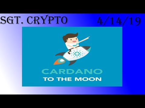 Cardano to moon in 2019