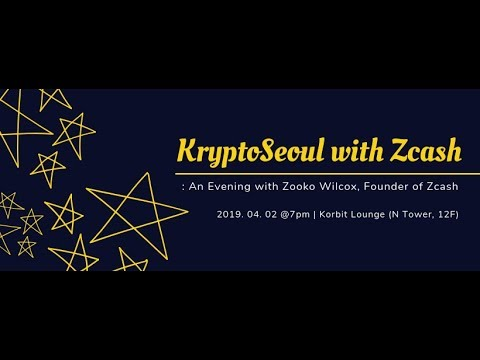KryptoSeoul with Zcash