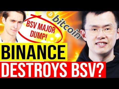 ? BULL MARKET ANALYSIS ? BINANCE KILLS BITCOIN SV? feat DataDash