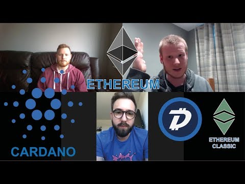 Ethereum Developer Hashoshi! Eth Vs Cardano! Talking Digibyte & Eth Classic! #Podcast 44
