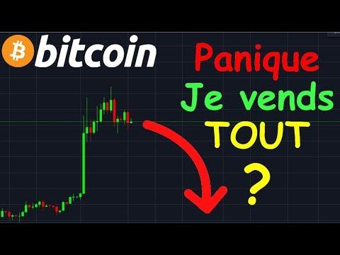 BITCOIN PANIQUE JE VENDS TOUT 2000$ !? btc analyse technique crypto monnaie