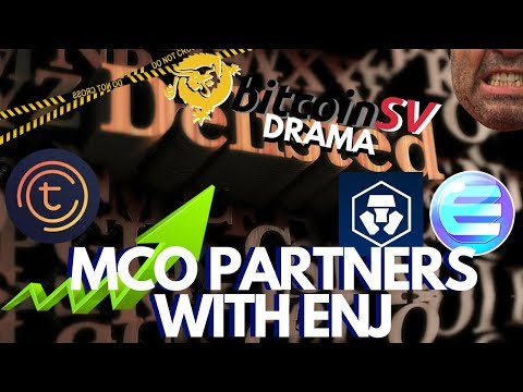 Bitcoin Fork BSV gets Delisted, BCH Rises! Crypto Com MCO Partners with Enjin ENJ, Tomochain Update