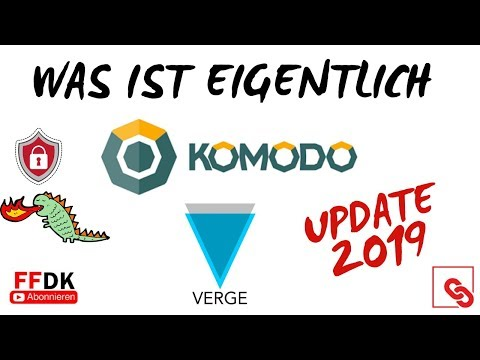 FFDK COINDAY – Was ist KOMODO (KMD) & VERGE (XVG)?! UPDATE 2019