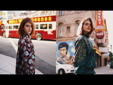 San Francisco City Style Portraits w/ @vallady (Canon EOS R & Sony A7iii)
