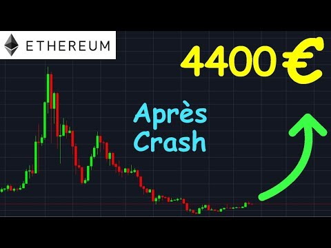 ETHEREUM 4400€ APRÈS LE CRASH !? ETH analyse technique crypto monnaie bitcoin