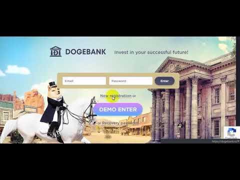 جديد||ربح عملة DogeCoin من موقع dogebank +مسابقه بالموقع لربح100الف قطعه مجانا