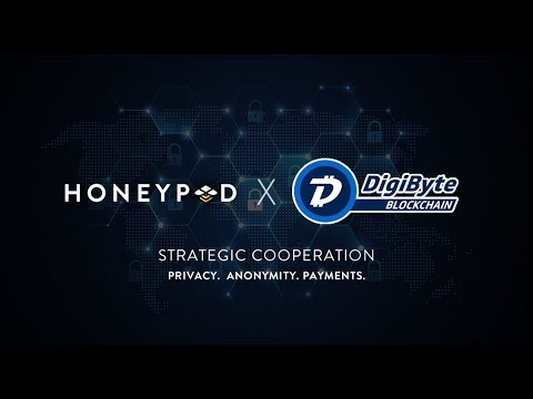 DigiByte – New Cooperation With HoneyPod! – Major Developments Coming Soon!