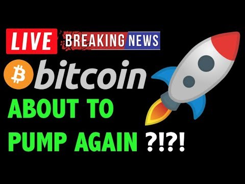 Bitcoin Price ABOUT TO PUMP AGAIN?! – LIVE Crypto Trading Analysis & BTC Cryptocurrency News 2019
