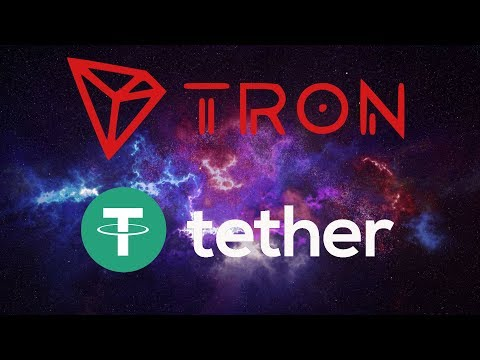 TRON TRX LAUNCHES TRON-USDT! TETHER WILL BE MASSIVE FOR TRON!!