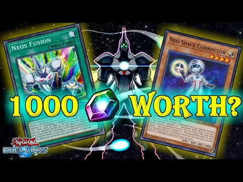Is the Neo-Spacian Structure Deck worth 1000 Gems? [Yu-Gi-Oh! Duel Links]