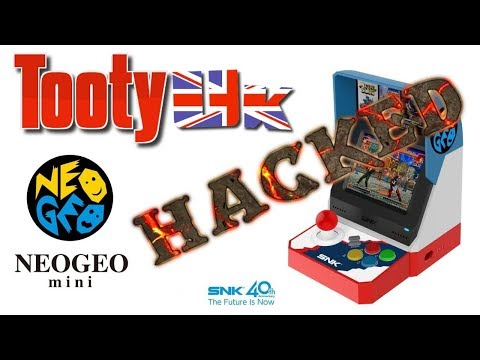 Neo Geo Mini – Hacked