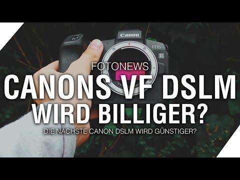 Neue Canon DSLM günstiger als EOS RP? // Fettes Sony Update! | Milou PD FOTONEWS