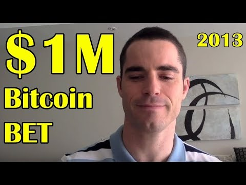 $1 Million Dollar Bitcoin Bet With Roger Ver – Pre Bitcoin Cash