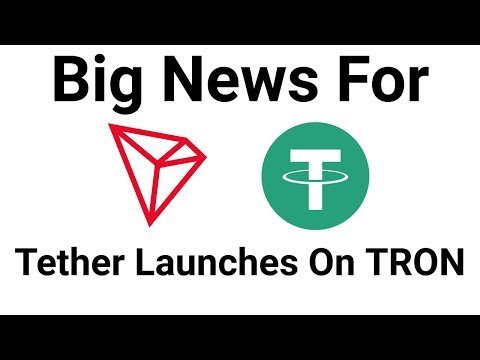 TRON Big News As Tether Launches USDT Stablecoin