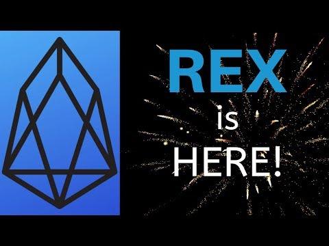 REX is HERE! EOS Staking Rewards Just Around The Corner