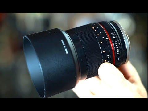 Rokinon 50mm f1.2 Canon EOS EF-M