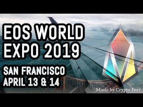EOS World Expo 2019 + Chintai, EOS Studio, EOS Emanate, New Hardware Wallet, Crypto Feez live music