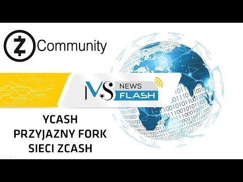 NewsFlash – Ycash – pierwszy przyjazny fork sieci Zcash