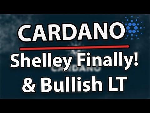 Cardano (ADA) Long Awaited Soul Of Shelley Is Out! & ADA Bullish Long Term!