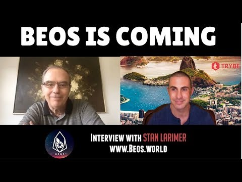 BEOS: Interview with Stan Larimer.  Bitshares, Satellites in space and The Mark of the Beast