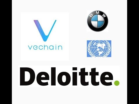 VeChain partnerships with United Nations, Deliotte, and BMW China confirmed!