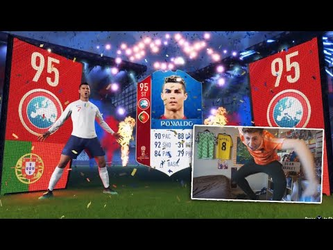 OMG RONALDO IN A PACK!!😱 – 1,000,000 COIN FIFA 18 WORLD CUP PACK OPENING!!😱