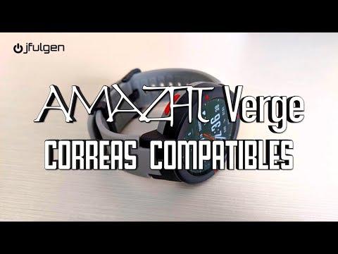 AmazFit Verge – Correas Compatibles
