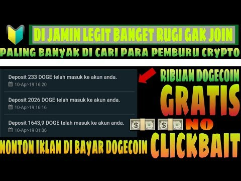 🔵 FREE GRATIS   RIBUAN DOGECOIN SUKSES KE WALET   NO INVESTMEN