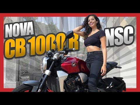 TESTE NOVA CB 1000 R NEO SPORTS CAFE | CB 1000 2019 | LANÇAMENTO