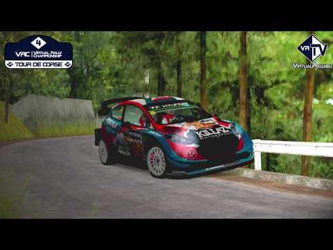 Action and crash – #4 VRC Tour de Corse [vr.TV]