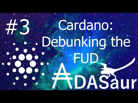 Cardano: Debunking the FUD #3