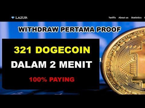WOW! WITHDRAW 321 DOGECOIN DALAM 2 MENIT