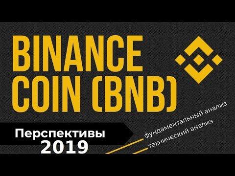 Бинанс коин (BNB) – прогноз на 2019 год