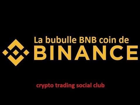 la bubulle du binance coin, bat, tezos et bitcoin