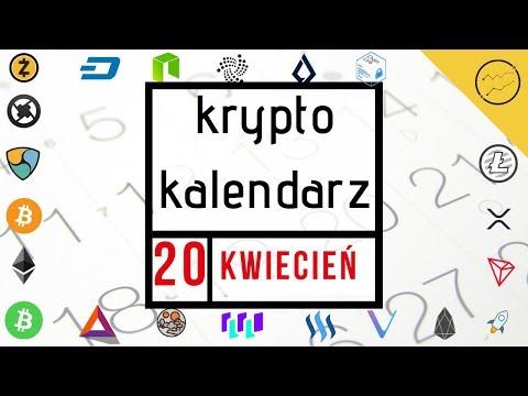 Krypto Kalendarz – 20.04.2019 – Binance Coin, QuarkChain, IOTX, Enjin, BAT