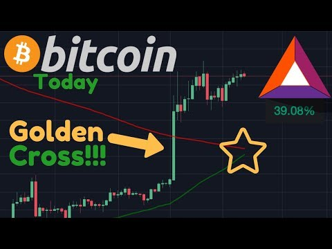 BITCOIN GOLDEN CROSS!! BULLISH?! | BAT Token Going PARABOLIC & Brave Browser Review!!
