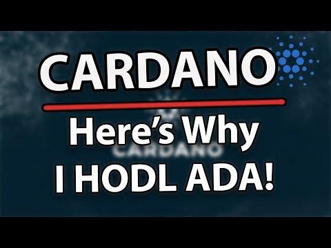 Why I HODL Cardano (ADA)!