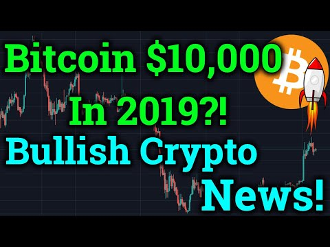 Bitcoin To $10,000 By End Of 2019?! TONS Of Bullish Cryptocurrency News! (BTC Analysis + Trading)