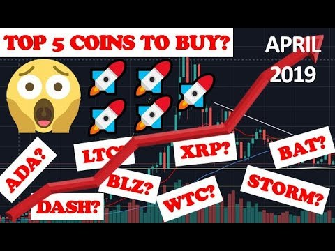 TOP 5 CRYPTOCURRENCY TO BUY IN APRIL 2019?