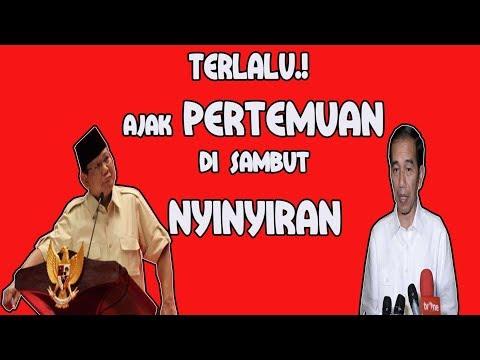 Belagu..! BPN Tolak Mentah Ajakan Pertemuan Jokowi Dengan Prabowo, Ada Tujuan Apa.