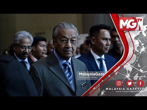 """TERKINI : """"Sultan Johor Tidak Ada Pengaruh Perlantikan Exco Baharu"""" – Tun M"""