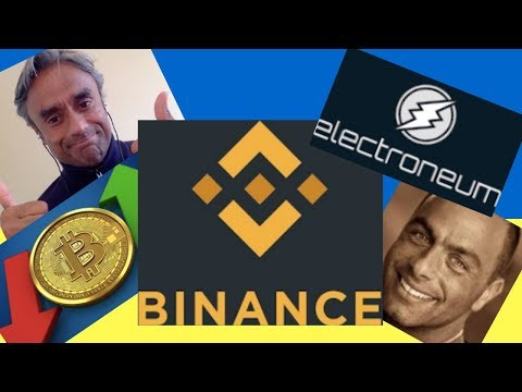 Electroneum, Binance & Bitcoin  – With Amir Ness