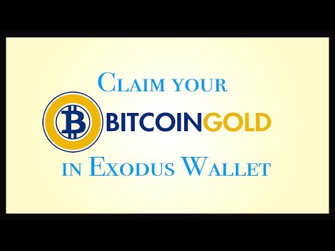 Claim Free Bitcoin Gold in Exodus Wallet Easily in Hindi | क्लेम फ्री बिटकॉइन गोल्ड