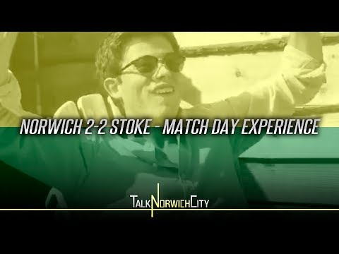 NORWICH 2-2 STOKE – MATCH DAY EXPERIENCE – ON VERGE OF PREMIER LEAGUE!