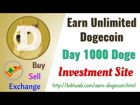 Earn Unlimited Dogecoin from DOGE Investing Site – 6% Daily Profit