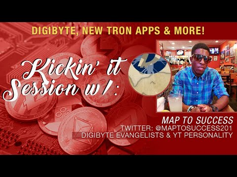 Map To Success x Crypto blood talk Digibyte, Crypto Investing, New TRON dApps and More!