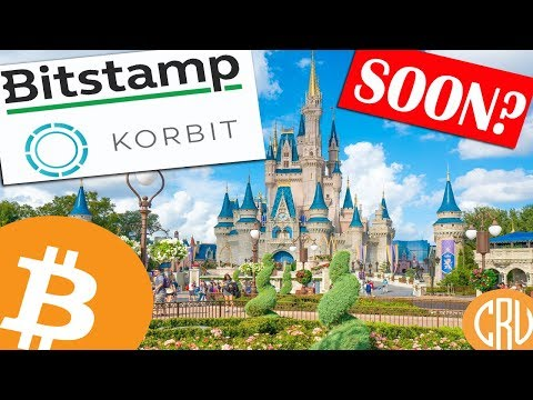 Disney Buying TWO Bitcoin Exchanges?  Bitstamp and Korbit for Sale from NXC