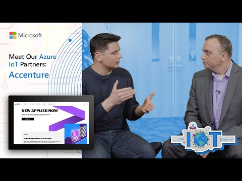 Meet our Azure IoT partners: Accenture